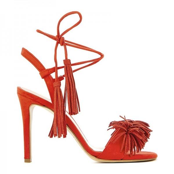 Sante Γυναικεία Πέδιλα Lace-Up Sandals 91631 (Μαύρο)  f1bcc8ead5e