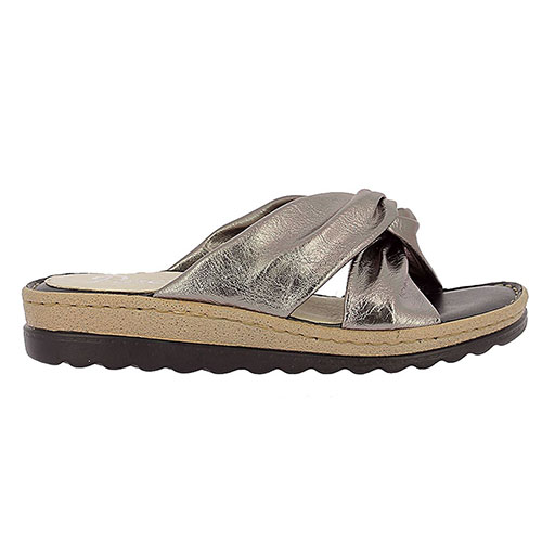 bdc4a7a6657 Parex Γυναικείες Παντόφλες Comfort Με Φάσα (Ατσαλί) 12117002, σανδαλια,  σανδάλια, παπουτσια. Product Image