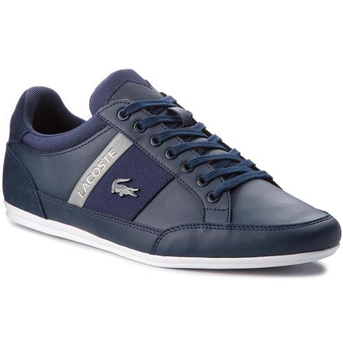 Lacoste Ανδρικά Δερμάτινα Sneakers CHAYMON CAM0011178 (Navy ... 40023f5bad6