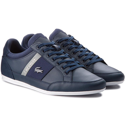 Lacoste Ανδρικά Δερμάτινα Sneakers CHAYMON CAM0011178 (Navy) 8dc79a4e2c2