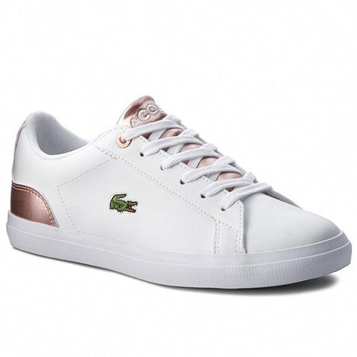 LACOSTE Γυναικεία Sneakers Lerond 318 3 Caj 7-36CAJ0014B53 Wht Pnk d8759e19070