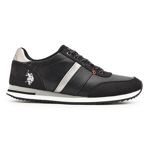 Us polo Assn Ανδρικά Παπούτσια Casual (Vance Black)  fc301e3b345