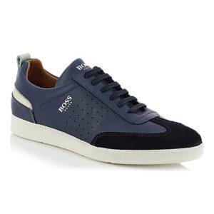 BOSS Shoes Sneakers Ανδρικά Δερμάτινα LAREZZO (ΜΠΛΕ)