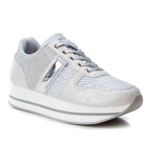 XTI Γυναικεία Sneakers B3D 41630-02 (Ασημί)