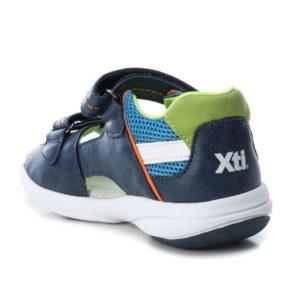 XTI Πέδιλα για Αγόρια 56735-02 (ΜΠΛΕ-ΠΡΑΣΙΝΟ)