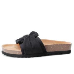 XTI Γυναικείες Παντόφλες Σουέντ 69782-05 (BLACK)