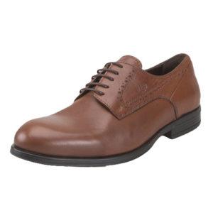 Boxer Ανδρικά Παπούτσια Δερμάτινα Δετά L 6003 (ΤΑΜΠΑ)