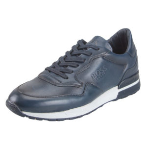 BOSS Shoes Sneakers Ανδρικά Δερμάτινα L 2019 (ΜΠΛΕ)