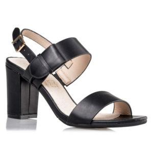 ENVIE Γυναικεία Πέδιλα Block Heel V64-09923-34 (BLACK)
