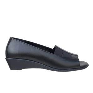 ddbe255c479 Relax Anatomic Γυναικεία Peep Toe 10156-01 (Μαύρο), ανατομικα παπουτσια για  ορθοστασια. Product Image