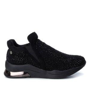 XTI Γυναικεία Sneakers 49525 (Μαύρο), μαυρα αθλητικα, γυναικεια μαυρα αθλητικα, αθλητικα στρας, γυναικεια αθλητικα, αθλητικα, γυναικεια sneakers, sneakers, αθλητικα, παπουτσια, papoutsia, athlitika papoutsia, αθλητικα παπουτσια, xti shoes, xti footwear, xti 2019, xti γυναικεια, xti sneakers, xti, xti 49525