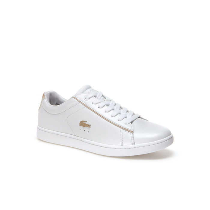 Lacoste Γυναικεία Sneakers Carnaby Evo 118 6 Spw 7-35SPW0013216 Λευκό