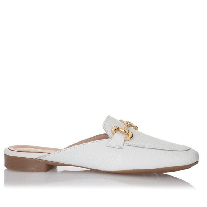 Sante Γυναικεία Day2Day Moccasins 21-105 (Λευκό), mule, Mules, sante, παπουτσια sante