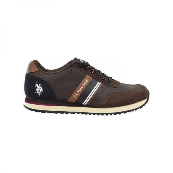 Ανδρικά sneakers U.S. POLO ASSN XIRIO001-BRW001 καφέ